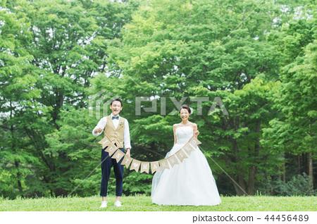 花園婚禮圖像 44456489