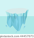 North pole Arctic Iceberg background 44457073