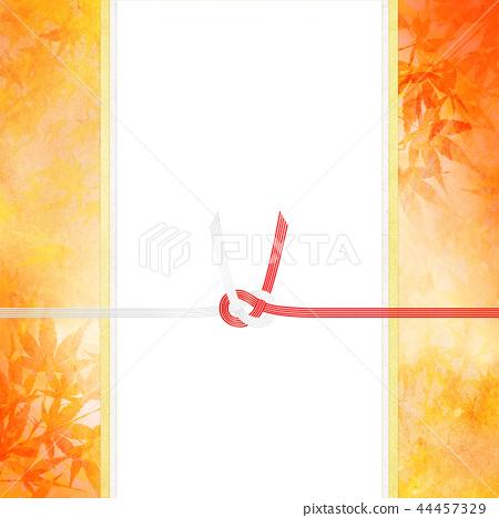 日日风格 - 日本模式 - 背景 - 日本纸 - 秋 - 秋叶 - 金 - 水 -  Noji纸 - 庆典 44457329