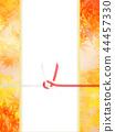 日日风格 - 日本模式 - 背景 - 日本纸 - 秋 - 秋叶 - 金 - 水 -  Noji纸 - 庆典 44457330