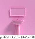 basin and mirror mock-up 44457638