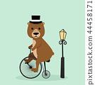 funny vector mammal 44458171