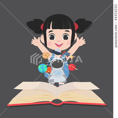 little girlbook of  in space 44458591