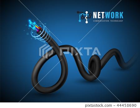 Fiber optic cable 44458690