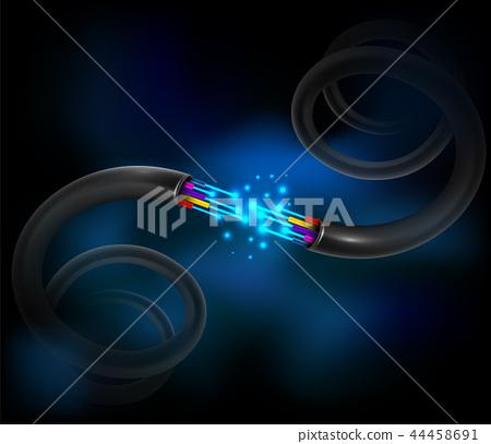 Fiber optic cable 44458691