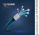 Fiber optic cable 44458696