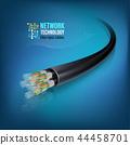 Fiber optic cable 44458701