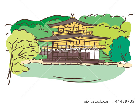 京都府京都市/ Shikaji Temple(金阁寺) 44459735