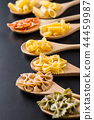 Various types of italian pasta. 44459987