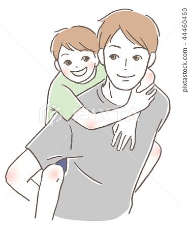父親和孩子們 44460460