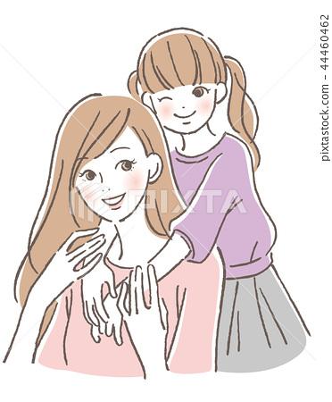 兒童和母親 44460462
