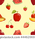 seamless, red, fruit 44462069