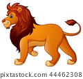 Cartoon funny lion  44462308