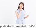 여성, 여자, 태블릿 44462451