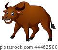 Angry bull cartoon 44462500