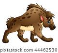 Funny hyena cartoon 44462530