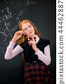 blackboard chalkboard child 44462887