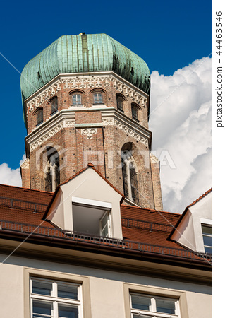 Frauenkirche - Munich Cathedral - Bavaria Germany 44463546