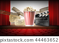 Cinema concept 3d illustration 44463652