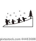 矢量 企鹅 旭山动物园 44463688