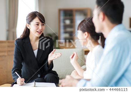 부부 가족 컨설턴트 플래너 전문가 상담 금융 보험 44466115