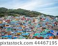 Famous attraction Gamcheon Culture Village, Korea 44467195