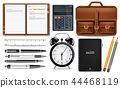 vector, supplies, realistic 44468119