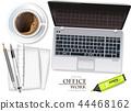 coffee, laptop, notebook 44468162