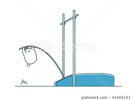 Flaky chicken pole pole jump 44468191