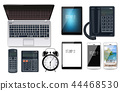 Business gadgets set Vector realistic. Computer 44468530