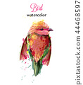 bird, watercolor, birds 44468597