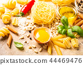 Healthy raw ingredients for italian pasta sauce Carbonara 44469476