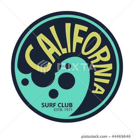 California surfer tee graphic 44469646