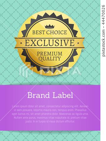 Best Choice Exclusive Premium Vector Illustration 44470026