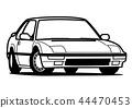 懷鄉國內小轎車彩圖汽車例證 44470453