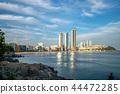 skyline of Haeundae District in Busan, South Korea 44472285