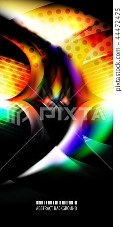 Geometric colorful abstract background 44472475