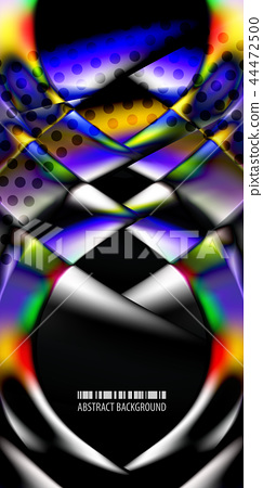 Geometric colorful abstract background 44472500