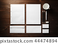 Blank corporate stationery 44474894