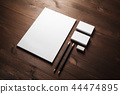 Blank corporate stationery 44474895
