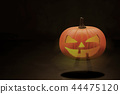 Halloween Pumpkin Head 44475120