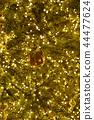 황금빛 크리스마스 트리 44477624