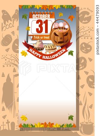 Halloween design. Trick or treat 44479093