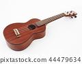 Ukulele hawaiian guitar  on white background 44479634