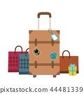 手提箱 行李 旅遊 44481339
