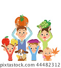 Harvest of food family 44482312