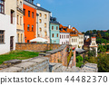 Historic center of the old town in Lublin, Poland. 44482370