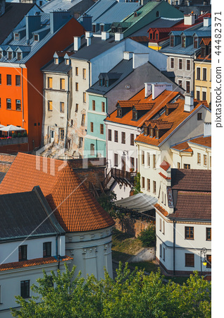 Aerial view of the historic center of Lublin 44482371