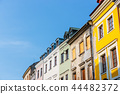 Historic center of the old town in Lublin, Poland. 44482372