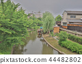 A sightseeing boat in Fushimi Horikawa Canal 44482802